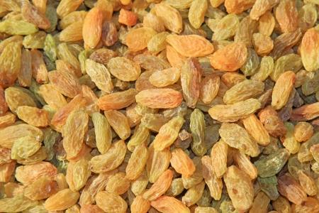 atrophy: pile of raisins, delicious snacks Stock Photo