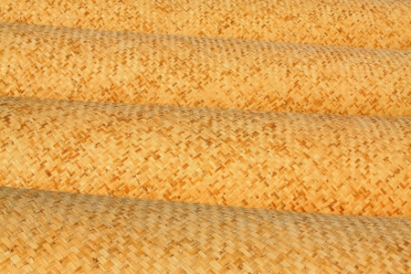traditional goods: Chinese traditional handmade goods-- reed mats Stock Photo