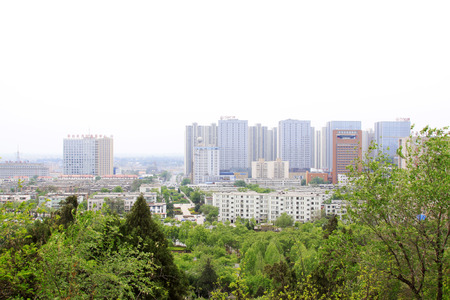 hebei province: city scenery in Tangshan, Hebei Province, China Editorial
