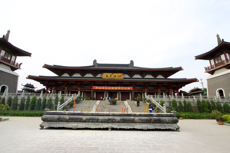hebei province: Buddhism building scenery in Xingguo temple tangshan city, hebei province, China.