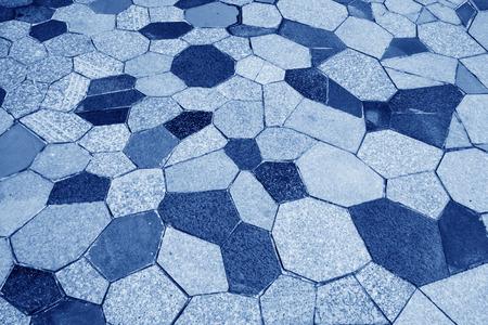 pavimento gres: pavimento di piastrelle di cemento rosa, primo piano di immagini Archivio Fotografico