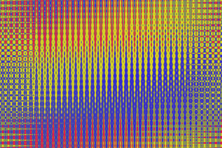 vanishing point: closeup of photo, beautiful color patterns, computer generated images    Stock Photo