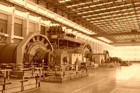 heavy industry: heavy industry production workshop in china
