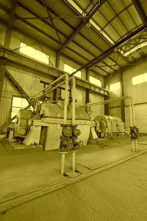 three phase motor: blast furnace TRT Unit in a power plant, north china