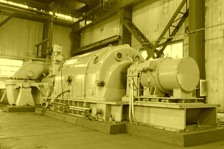 blast furnace TRT Unit in a power plant, north china