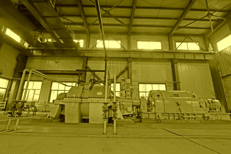 capacious: blast furnace TRT Unit in a power plant, north china