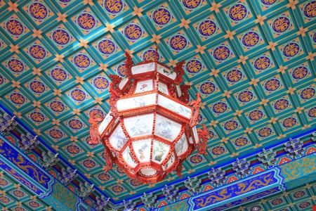 droplight: Chinese traditional style droplight, closeup photo