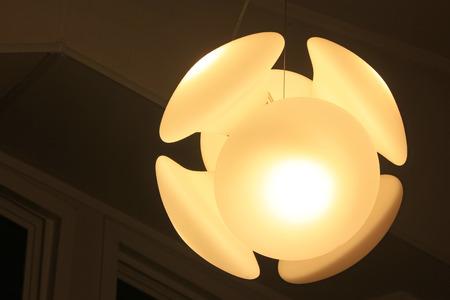 droplight: glass droplight, closeup photo