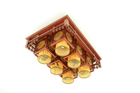 droplight: Cinese droplight stile tradizionale, primo piano di foto