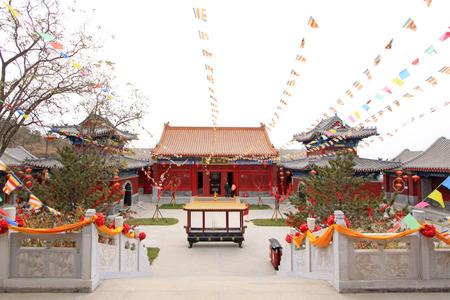 LUAN COUNTY NOVEMBER Hengshan Dajue Temple Landscape - Temple landscape architecture