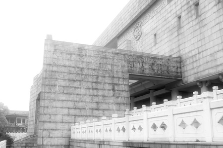 hunan: Changsha City, April 12: The Museum of Hunan Province architectural landscape on April 12, 2012, Changsha City, Hunan Province, China