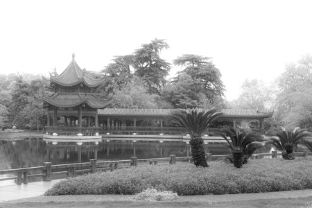 the humanities landscape: ancient Chinese traditional architectural landscape, south china