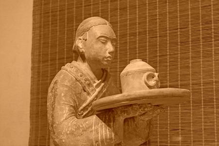 relics: Changsha City, April 12: Mawangdui Han tomb unearthed cultural relics on April 12, 2012, Changsha City, Hunan Province, china.