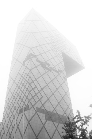 Beijing, July 6: Beijing Chaoyang District East sanhuan CCTV new building on July 6, 2012, beijing, china