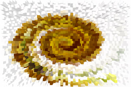 computer images: Color design pattern, computer generated images, closeup of photo
