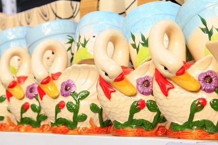 formative: Swan formative flower pot
