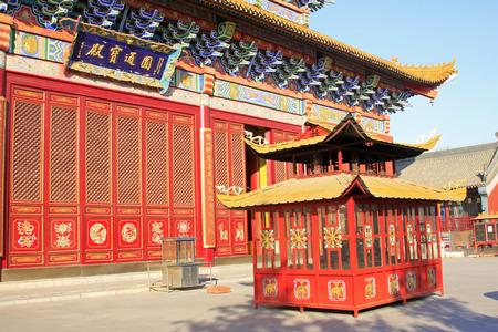 goddess of mercy: Hohhot City - February 6: Goddess of mercy temple Building scenery, on February 6, 2015, Hohhot city, Inner Mongolia autonomous region, China Editorial