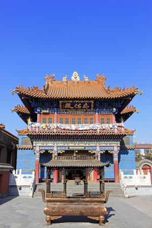bodegones: Hohhot City - February 6: Dazhao Lamasery architectural landscape, on February 6, 2015, Hohhot city, Inner Mongolia autonomous region, China Editorial