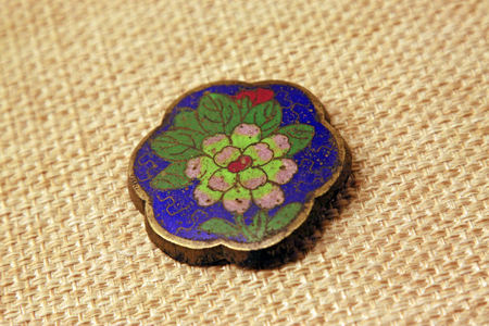 the arts is ancient: ancient Chinese traditional arts and crafts - Saddle adornment, closeup of photo