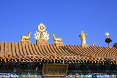 burnish: Hohhot City - February 6: Buddha jersey everything bronze plaques in the Dazhao Lamasery, on February 6, 2015, Hohhot city, Inner Mongolia autonomous region, China