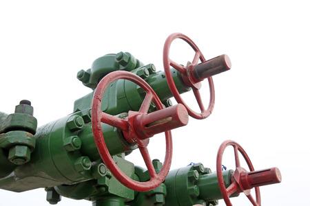 damage control: Oil pipeline control hand-wheel