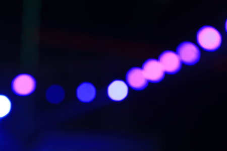 fuzzy: stage lights and fuzzy image
