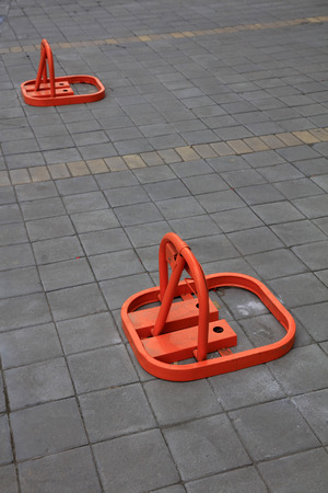 parking facilities: No parking tools on the ground in a park