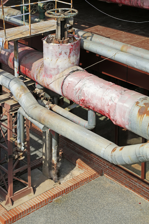 thermal insulation: Thermal insulation pipes and valves