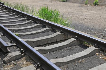 rail track: rail track, closeup of photo