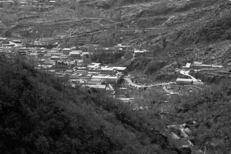 landscape architecture: landscape architecture in the valley, north china