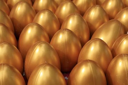 aureate: lucky golden eggs, closeup of photo