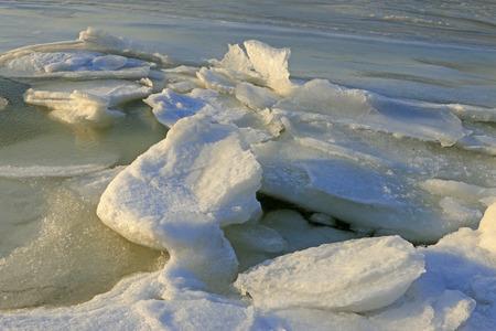 predicament: Sea ice natural landscape