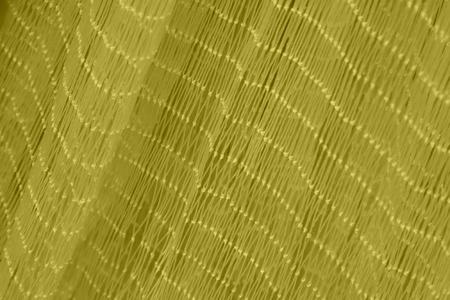fishing nets: Brown nylon fishing nets, closeup of photo