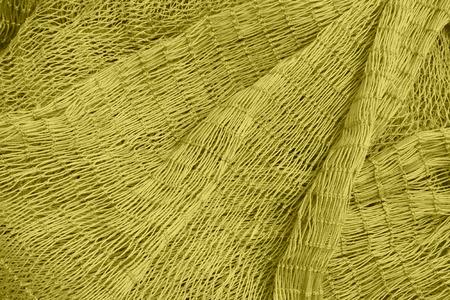 fishing nets: Nylon fishing nets in a market, closeup of photo