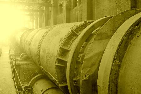 tangshan city: TANGSHAN CITY - NOVEMBER 18: original mechanical equipment in a museum, on november 18, 2014, Tangshan City, Hebei Province, China