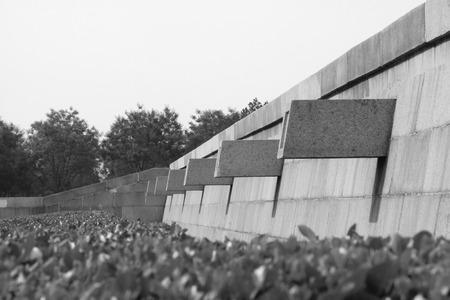 landscape architecture: Granite landscape architecture and greening in a park