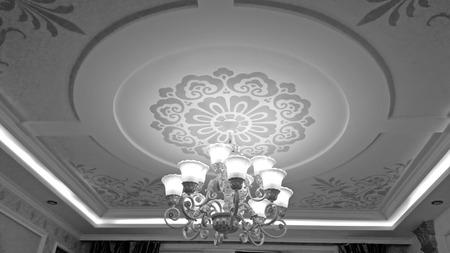 droplight: glass chandelier in a hotel