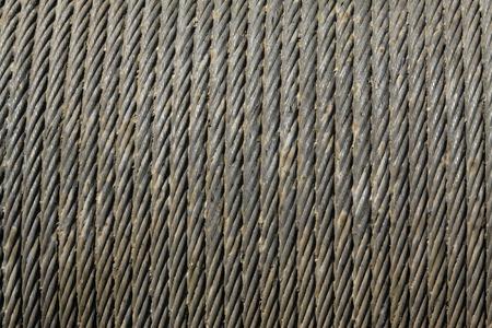 firmeza: cuerda de alambre de acero densa