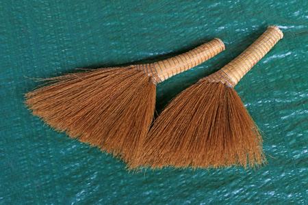 necessities: whisk broom