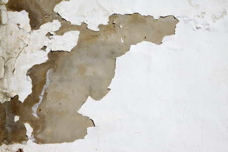 mottled: Cracks on the wall