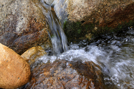 rocks and streams