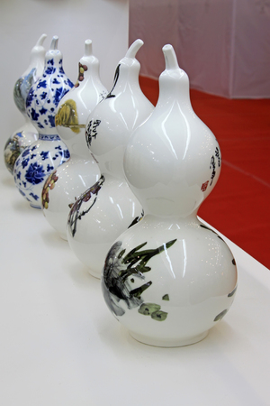 Chinese ceramic arts and crafts Editorial