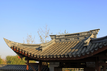 eaves: Chinese ancient building eaves
