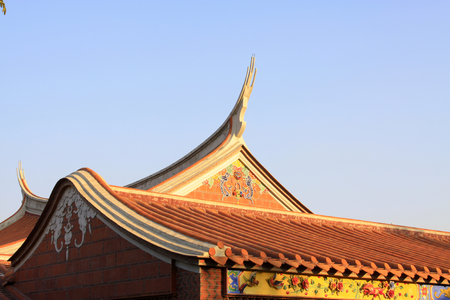 roof of Chinese traditional style