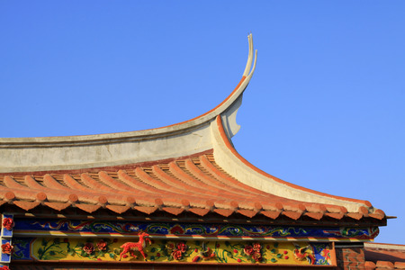 roof of Chinese traditional style Stock Photo