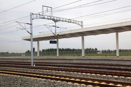 Electric railway contact net support