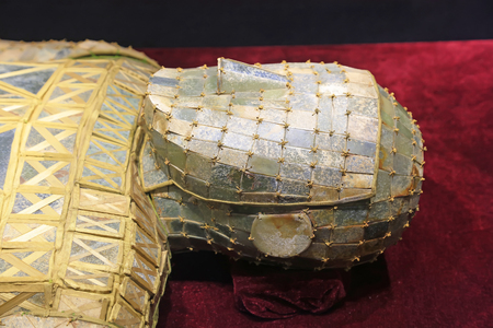 antiques: Chinese ancient Burial clothes