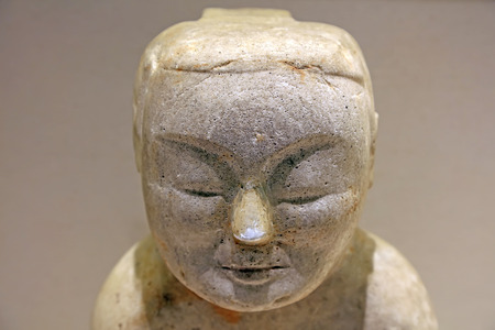 Chinese ancient stone portrait