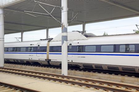 High speed train and rail Editorial