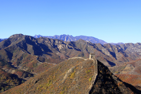 Great Wall of China architectural scenery